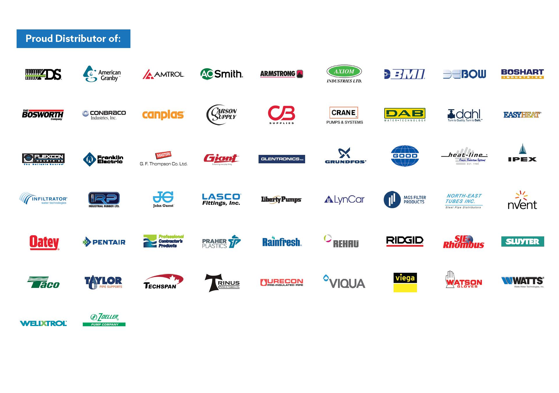 Vendor logos 2021
